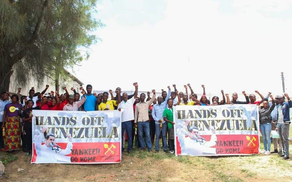 Statement of the Socialist Party (Zambia) on the attempted coup in Venezuela.