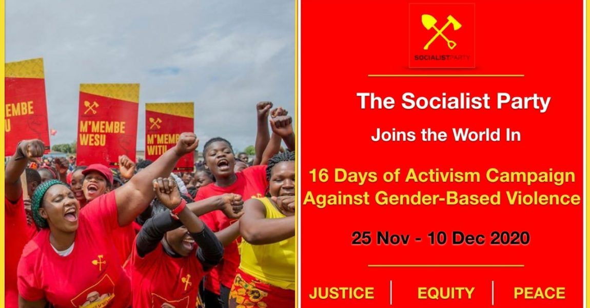 Statement of the Socialist Party on the 16 Days of Activism Against Gender-Based Violence