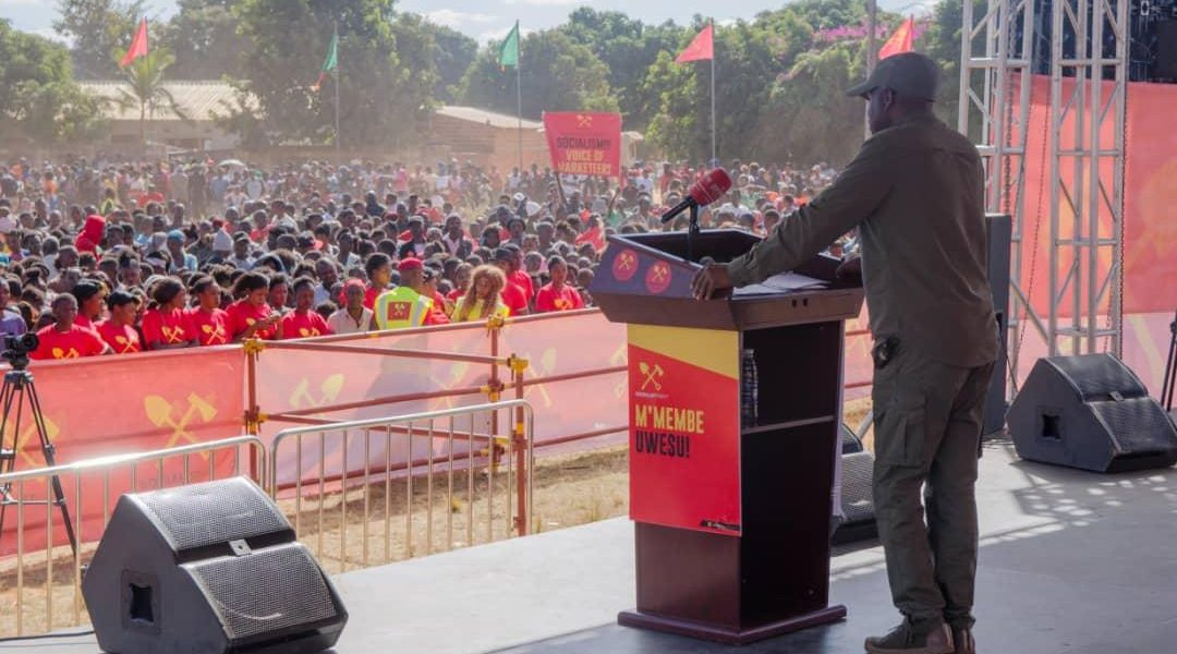 Speech by comrade Dr. Fred M'membe – Kitwe Rally