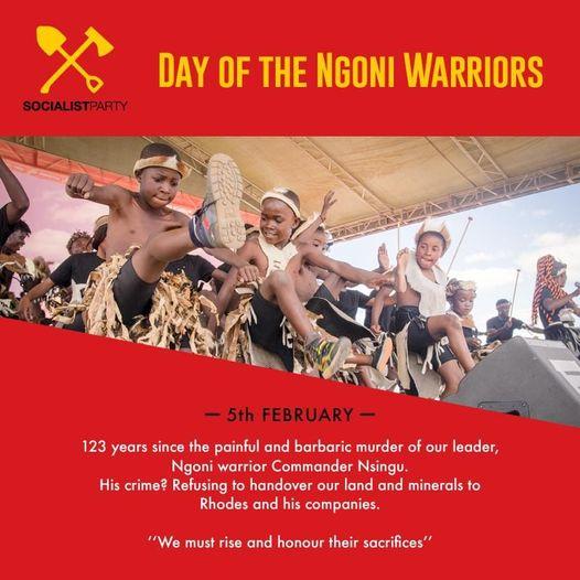 Nsingu Day – February 5, the Day of the Ngoni Warriors